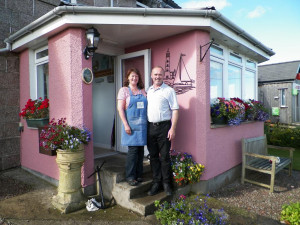 John and Jane Seaview bed and breakfast Fionnphort Isle of Mull