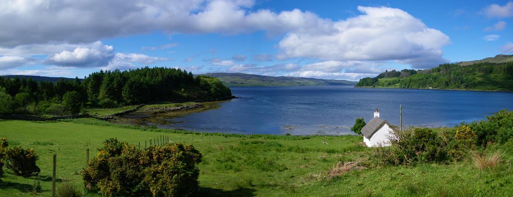Kilfinichen Bay Isle of Mull Otters and Sea eagles