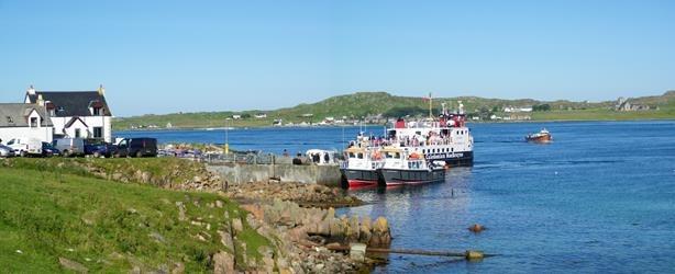 Fionnphort Ferry Isle of Mull Iona