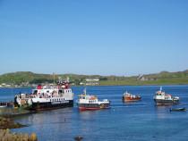 kiosk Fionnphort Isle of Mull