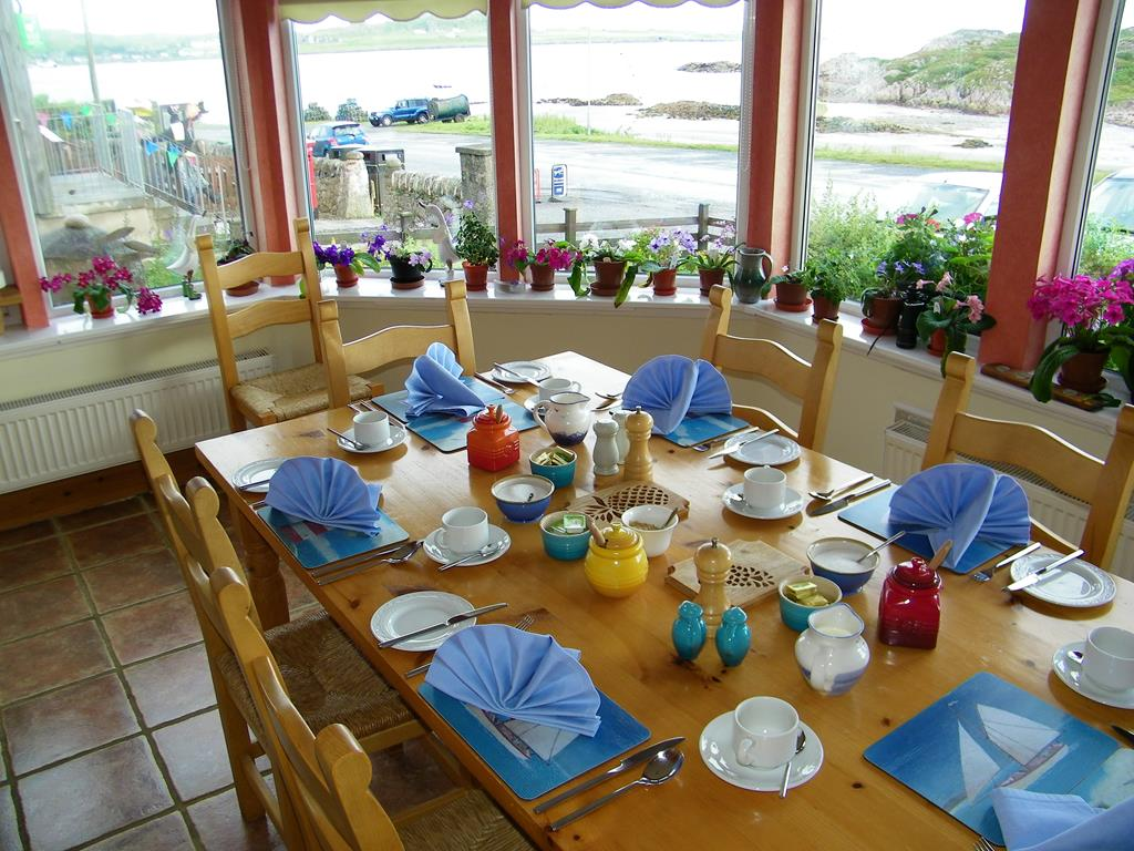 Seaview bed and breakfast accommodation