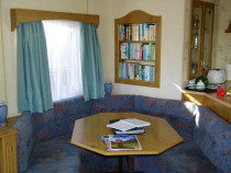 Self catering caravan holiday accommodation Seaview Fionnphort Isle of Mull