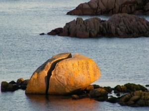 Fingals Rock Fionnphort Mull