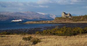 Duart Castle Cal Mac Isle of Mull