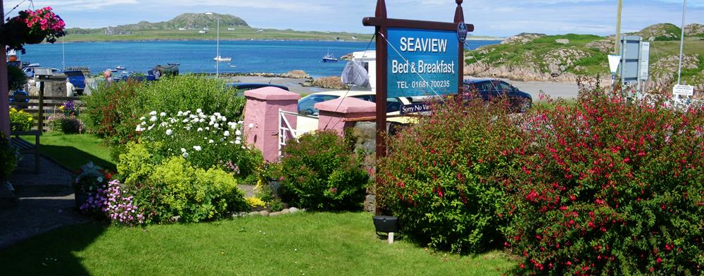 Seaview bed and breakfast accommodation Isle of Mull Isle of Iona
