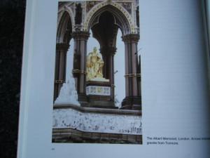 Fionnphort, Mull,Tor Mor, Granite Pillars, Albert Memorial