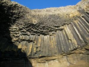 Cormorant's Cave, Staffa, Isle of Staffa, Hebrides
