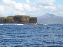 Staffa Fingals Cave Ben More Mull Isle of Mull