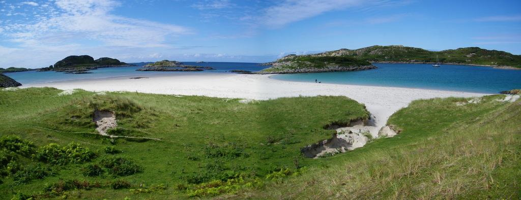 Knockvologan Beach Isle of Erraid Isle of Mull