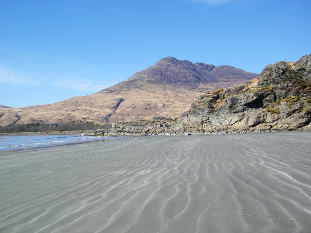 Laggan Sands Ben Buie Loch Buie Isle of Mull