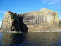 West Face, Isle of Staffa. Fingals Cave,Isle of Iona, Isle of Mull Scotland