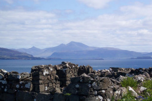 Lunga ruins to Ben More Mull