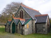 St Kilda Church Loch Buie Isle of Mull