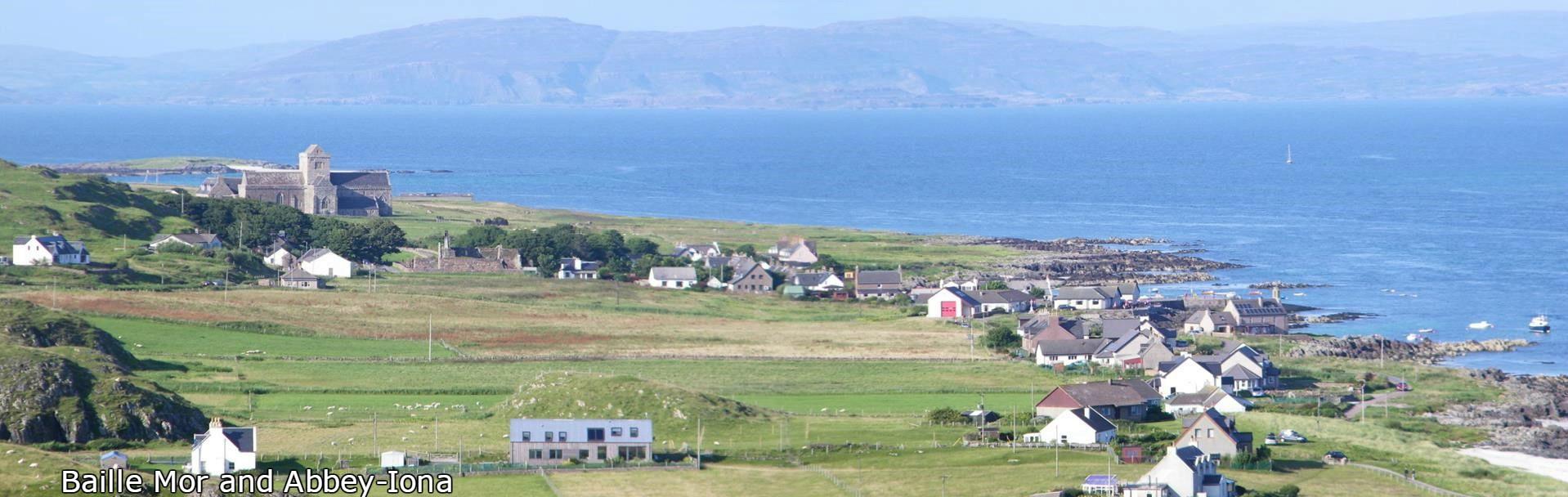 Baille Mor,Iona.Abbey,Isle of Iona