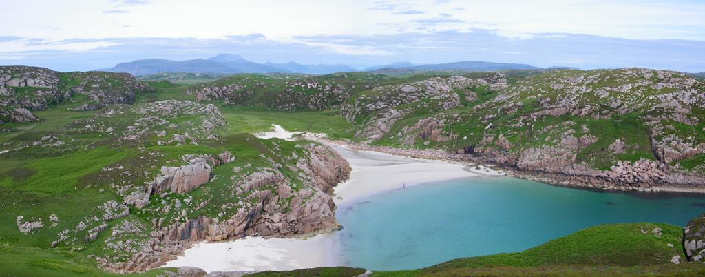Traigh Ghael or Balfours Bay Isle of Erraid Isle of Mull