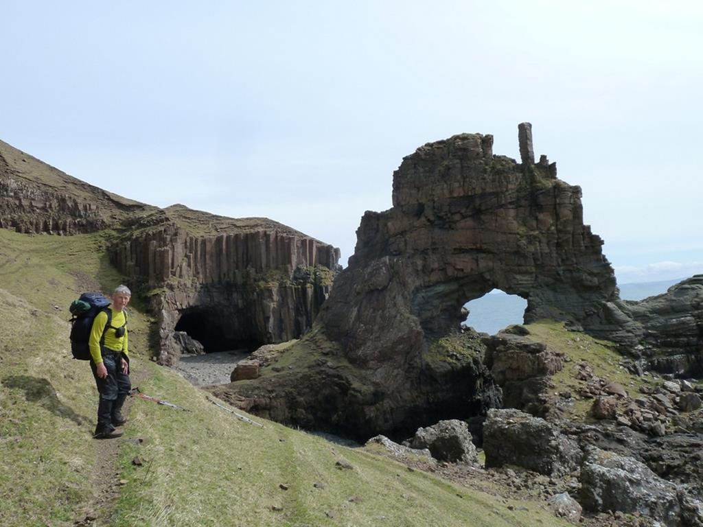Carsaig Arches  sea arches Isle of Mull
