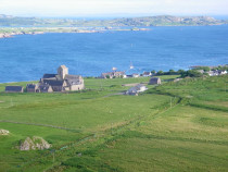 From Dun I Iona Abbey Bishops House Baille Mor Isle of Iona