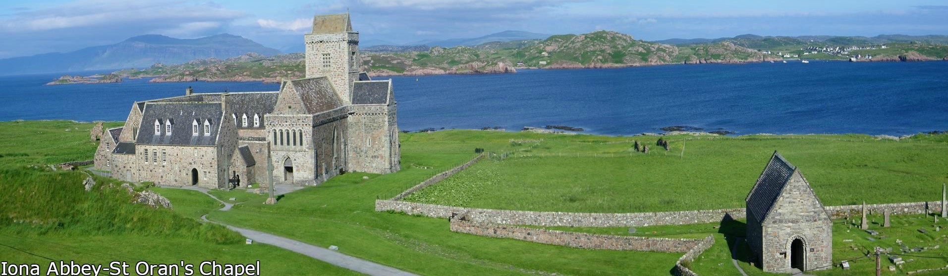 Iona Abbey, Isle of Iona, Hebrides