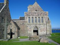 St Johns Cross Iona Abbey Columbas Shrine