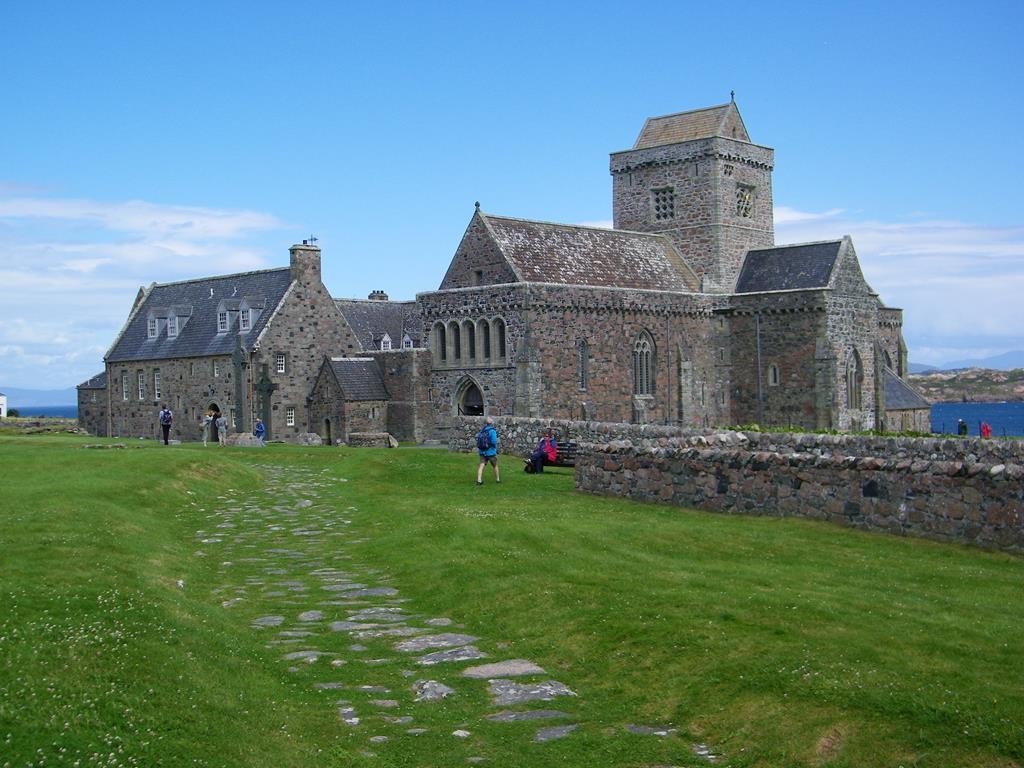 Iona abbey Isle of Iona