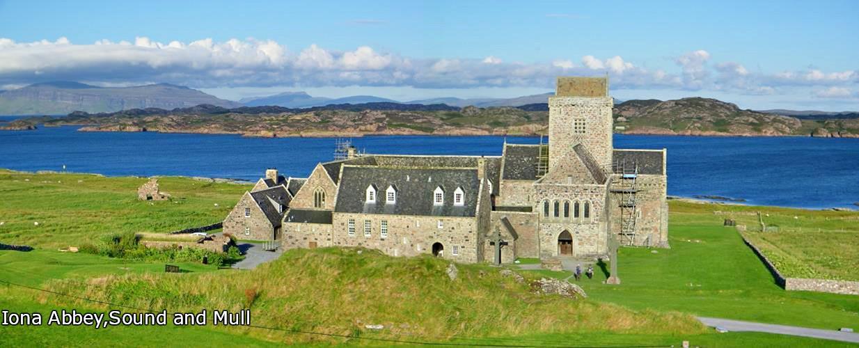 Iona Abbey, Isle of Iona, Isle of Mull