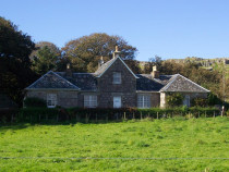 Isle of Iona Heritage centre and church Manse