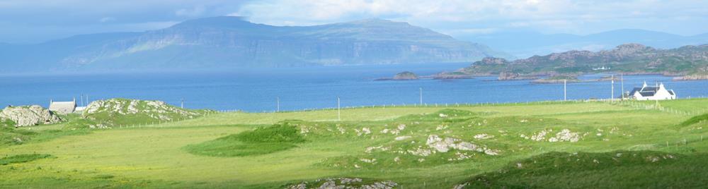 Isle of Iona Burg Isle of Mull