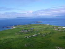 Traigh an t Suidhe Langandorain Calva Eilean Annraidh Strand of the Monks from Dun I Iona