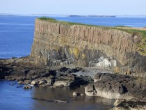 Isle of Staffa basalt, Treshnish, Hebrides