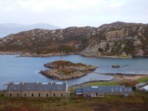 Camus Quarry and Cottages, Isle of Mull