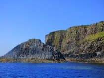 The Herdsman and Isle of Staffa,Hebrides,Scotland