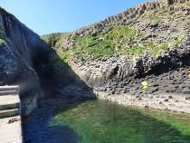 Clamshell Cve Staffa,Isle of Staffa,Staffa trips and tours pier