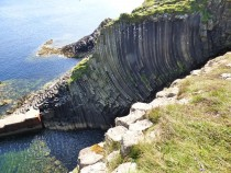 Clamshell Cave, Isle of Staffa, Hebrides, Scotland