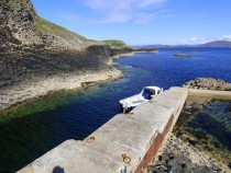 Staffa Trips and Tours Pier, Isle of Staffa, Hebrides