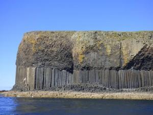 basalt layers, Isle of Staffa, Hebrides