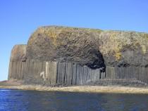 Isle of Staffa,Basalt Columns, Fingals Cave,Isle of Mull,Hebrides