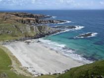 Walking Scoor Beach,Ross of Mull