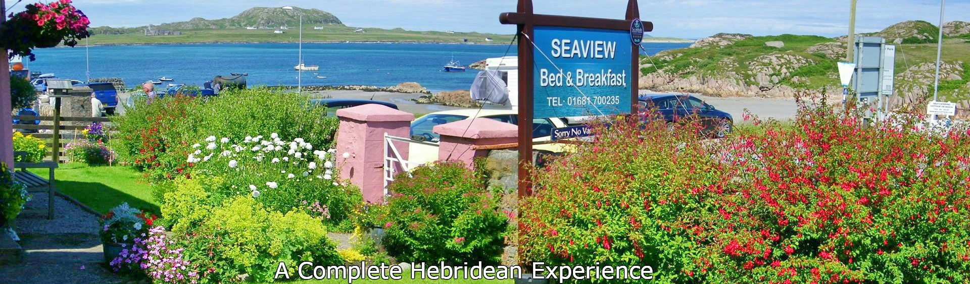 Seaview bed and breakfast,Fionnphort,Isle of Mull,Isle of Iona