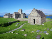 Iona Abbey and St Orans chapel