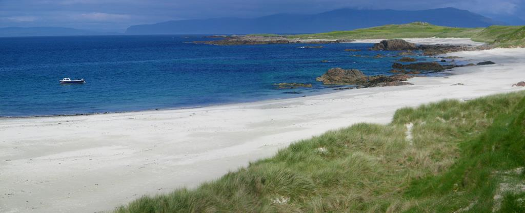 Isle of Iona beach Traigh an t Suide Isle of Mull