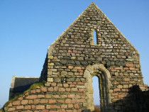 North Chapel Iona nunnery Isle of Iona