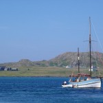 Iona Abbey and Birthe Marie