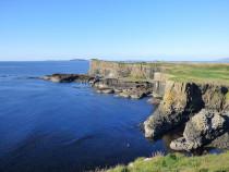 West Harbour, The Gunna Mor , Isle of Staffa Inner Hebrides near Mull