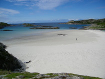 Knockvologan beach Erraid Isle of Mull