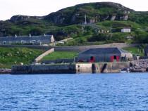 Erraid Stevenson lighthouse pier