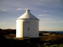 Erraid lighthouse signal station Isle of Mull