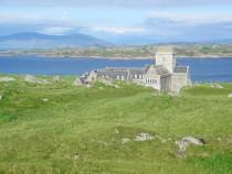 Iona Abbey Sound of Iona Isle of Mull