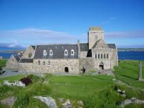 Isle of Iona Abbey and refectory Iona