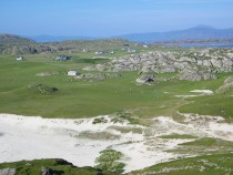 Bay at the Back of the Ocean Machair and Crofts Iona