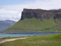 Gribun from Inch Kenneth Isle of Mull